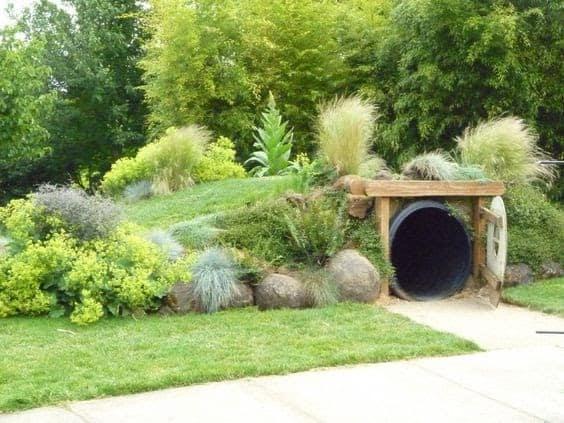 Hobbit-inspired house