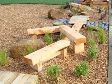 Mini obstacle course for kids