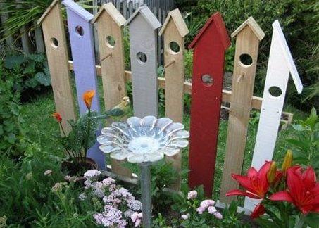 Birdhouse-style planks
