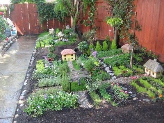 Small garden village
