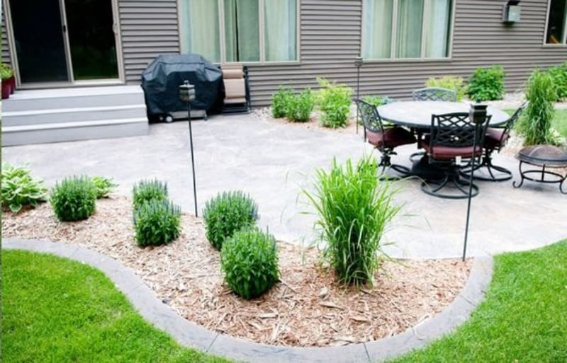 Garden beds with smooth edges