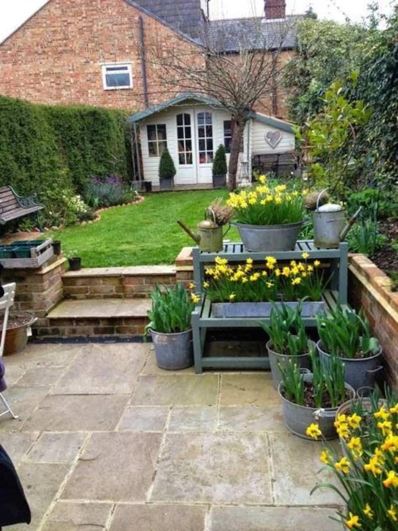 Two-level garden
