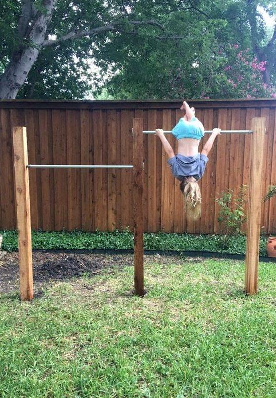Backyard gym bars