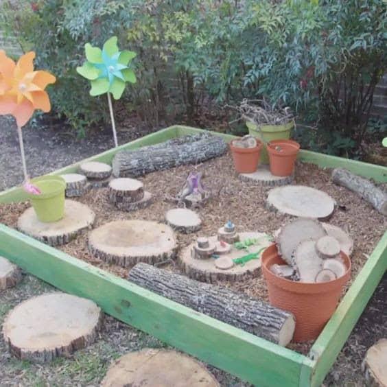 DIY nature playbox