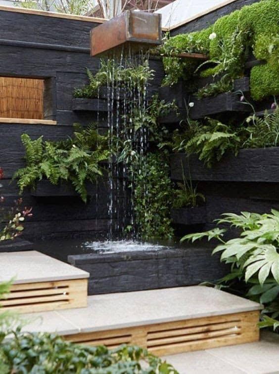 Small rainfall for garden