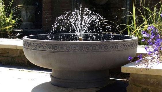 Appealing garden fountain