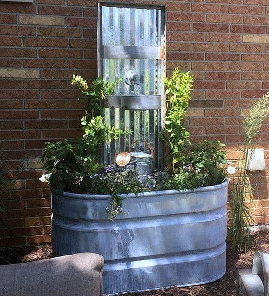 Low budget DIY fountain