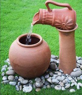 Ceramic water feature