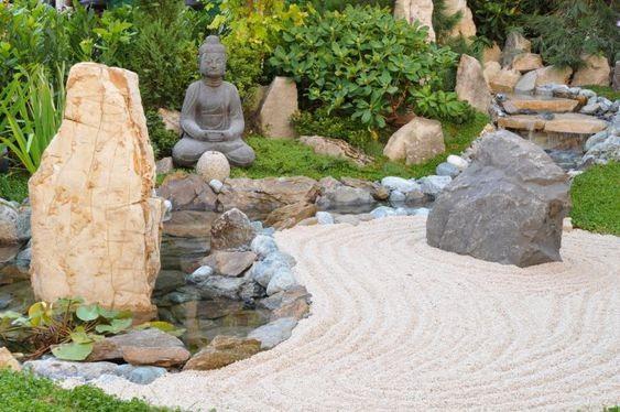Japanese inspired garden