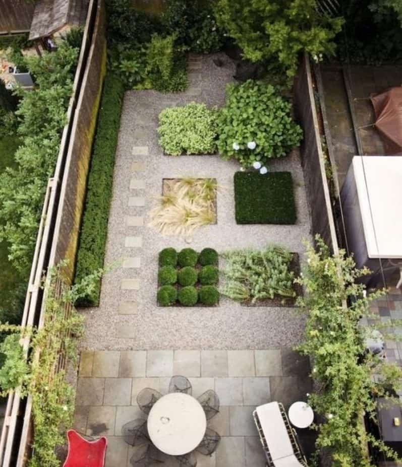 Plant sections for a more organised outdoor space
