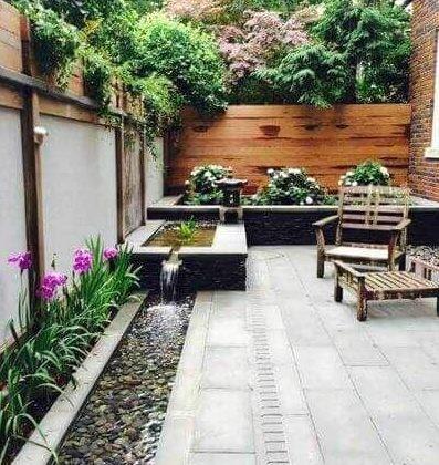Zen small backyard