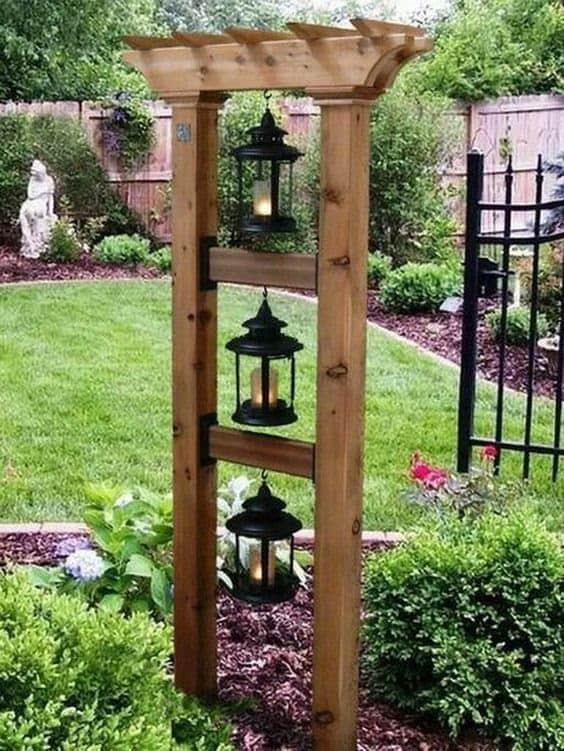 Japanese lanterns for zen gardens