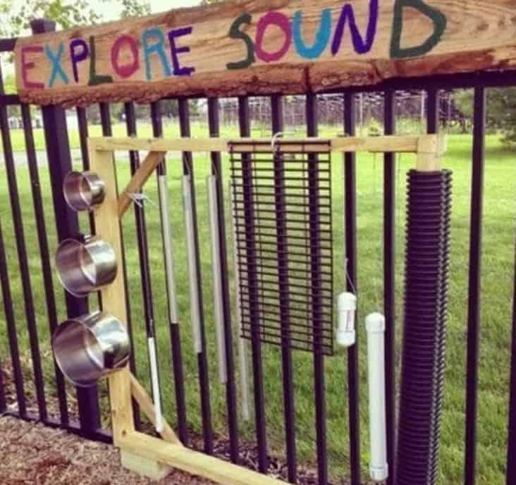 Sound exploration area