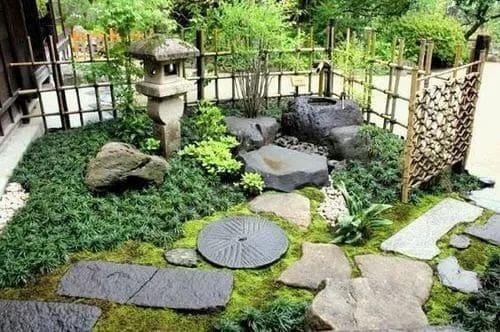 Zen front yard