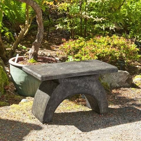 Small Japanese bench