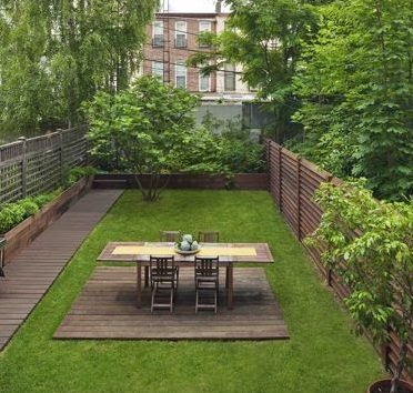 Picnic table creating a cute outdoor dining area for family and friends