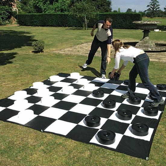 A massive lawn board game