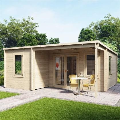 BillyOh Cove Multiroom Log Cabin