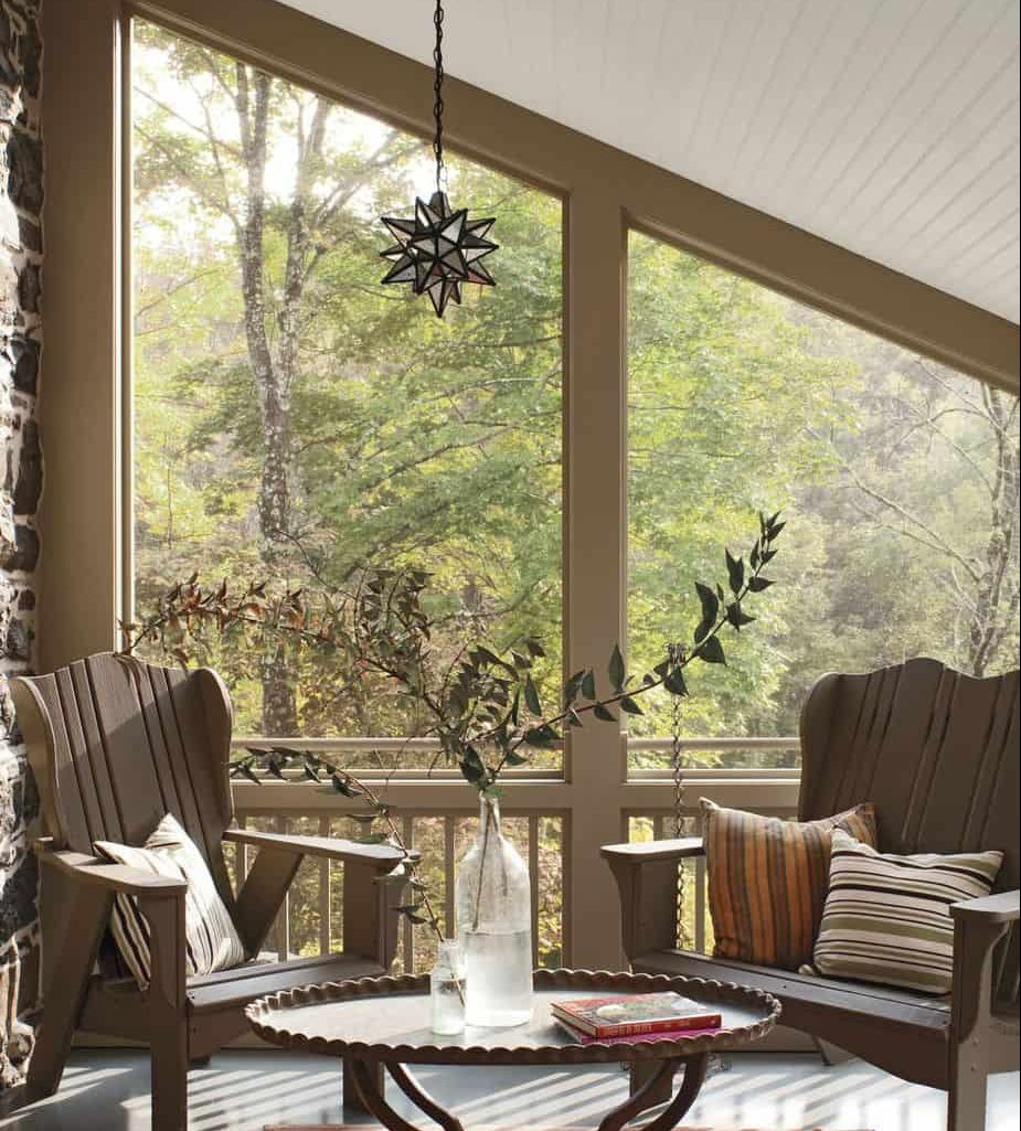 Country house patio style furniture