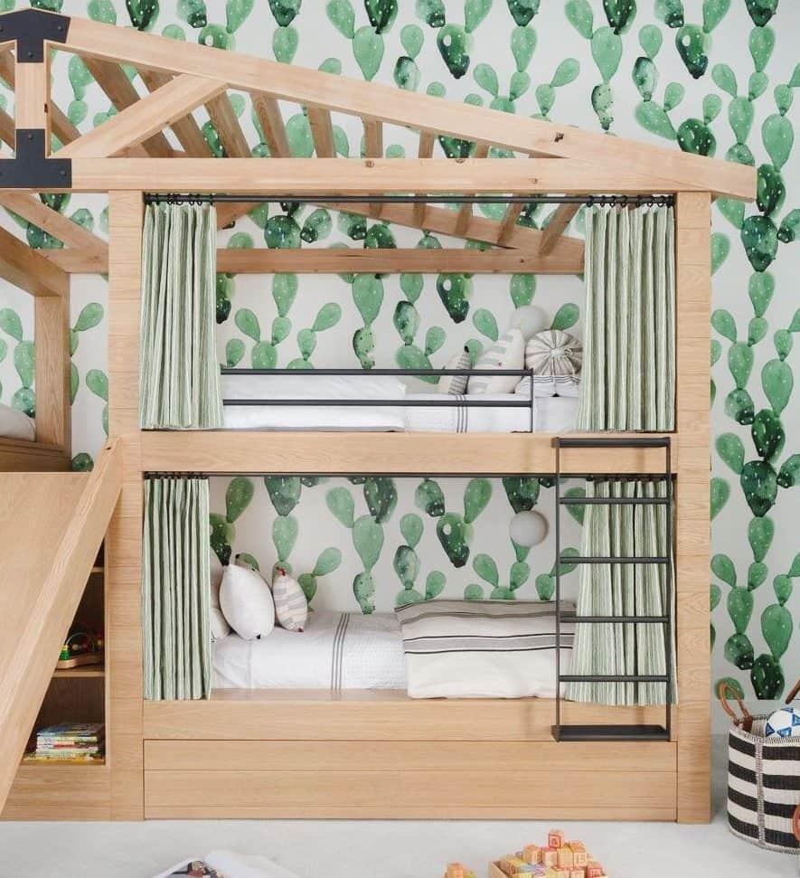 DIY treehouse bed frames