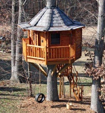 Gazebo style treehouse