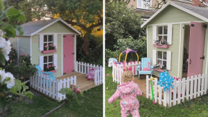 "Customer Story: Luna's ""Pastel Dreamhouse"" Playhouse"