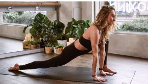 How to Turn Your Log Cabin into a Personal Yoga Studio