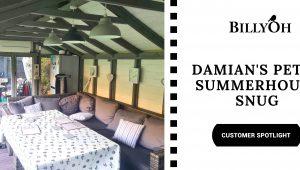 Customer Spotlight: Damian's Petra Summerhouse Snug
