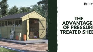 The Advantages of Pressure Treated Sheds